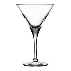 Hospitality Glass - 7H x 4.25T x 3B V Line 8.25 oz Martini Glasses 12 Ct - V Line 8.25 oz Martini
