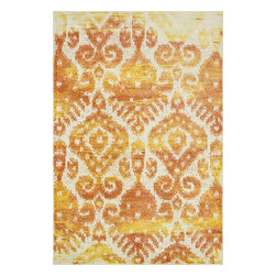 "Loloi Rugs - Loloi Rugs Madeline Collection - Sunrise, 5'-2"" x 7'-7"" - Distinguished by its unprecedented watercolor design, the Madeline Collection features a series of gorgeous, show-stopping rugs at an unbeatable price. Power-loomed of 100% polypropylene in Egypt, Madeline's color space-dyeing technique gradates the bold and vibrant colors throughout the rug to create a stunning rendition of popular watercolor paintings."