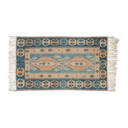 Kilim Rugs - Kilim Rugs are amazing accent pieces - they fold up discreetly and are decoratively versatile.  Slung over the back of a couch, folded atop an ottoman as a blanket.  Excellent throw rugs and scatter rugs.  Beautiful pieces!