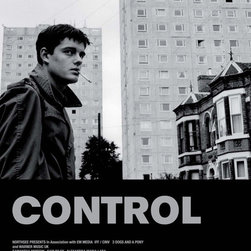 Control 11 x 17 Movie Poster - UK Style A - Control 11 x 17 Movie Poster - UK Style A Sam Riley, Samantha Morton, Craig Parkinson, Alexandra Maria Lara. Directed By: Anton Corbijn. Producer: Orian Williams Todd Eckert.