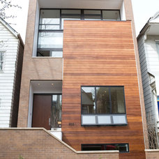 Contemporary Exterior by Perimeter Architects