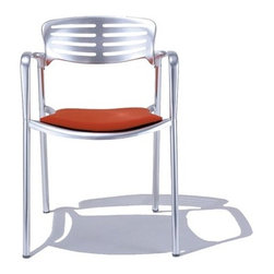 """Knoll - Toledo Chair with Seat Cushion - THE DESIGN 