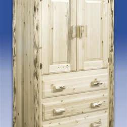 1 190 knotty pine armoire products