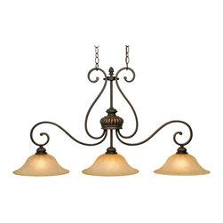 Golden Lighting - Golden Lighting 7116-10 LC Island Light - Golden Lighting 7116-10 LC Island Light