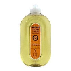 Method Hard Floor Cleaner, Ginger Yuzu, 6 Bottles - Non-Toxic