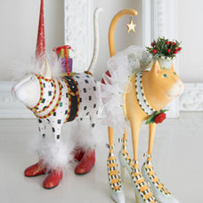 Eclectic Holiday Decorations by Horchow