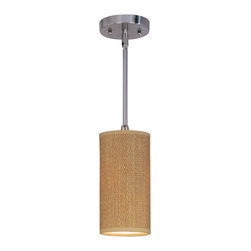 ET2 Lighting - Elements 1-Light Mini Pendant - If this versatile fixture were a pop star, she'd be a chameleon. The form may be the same, but she can easily rock a different style. Just as Madonna did it with each album, you can apply that principle as you design from room to room.