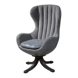 Uttermost - Uttermost 23121 Linford Swivel Chair - Uttermost 23121 Linford Swivel Chair