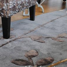 Contemporary Carpet Flooring by Pebble Beach Design