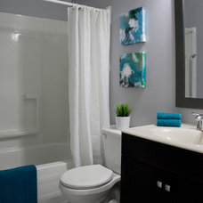 Transitional Bathroom by Alanna Winterly Interiors