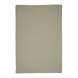 Colonial Mills - Braided Simply Home Solid 2'x4' Rectangle Lambswool Area Rug - The Simply Home Solid area rug Collection offers an affordable assortment of Braided stylings. Simply Home Solid features a blend of natural Lambswool color. Machine Made of 100% Polypropylene the Simply Home Solid Collection is an intriguing compliment to any decor.