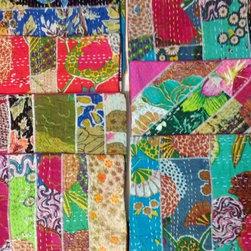patchwork throw pillows -
