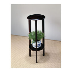 "Coaster - ""Coaster Plant Stand, Cappuccino"" - ""Cappuccino finish plant stand with bottom storage shelf.Dimensions (W x L x H): 12.00"""" x 12.00"""" x 28.50""""Finish/Color: CappuccinoAssembly Required: NoMade in Taiwan"""