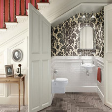 traditional bathroom by UK Bathrooms