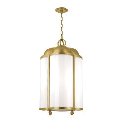 Hudson Valley - Hudson Valley Lighting 7618-AGB Aged Brass Berkshire 4 Light Pendant - Hudson Valley Lighting 761 Berkshire 4-Light Pendant Berkshire 4-Light PendantWhile the quatrefoil traces its roots to northern European cathedrals, its