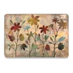 Jason Products Usa Inc. - Rainbow Garden Hard Backed Placemats (Set of 2) - Rainbow Garden hard backed placemats from New Zealand will make the occasion. The beautiful placemats protect furniture against staining and scratching.