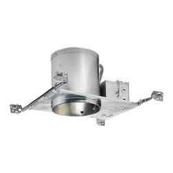 """Juno Lighting - ICPL626E 6"""" IC Rated New Construction Housing - 26W Triple Vertical CFL - Housing only. Trim and bulb sold separately."""