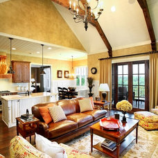 Traditional Living Room by ID Studio Interiors