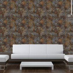 Easy Peel n Stick Wallcover Wallskins-  YOUR WALLS,  UNDERCOVER - FAST.  EASY.  NO COMMITMENT.