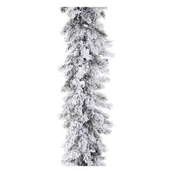 Silk Plants Direct - Silk Plants Direct Snow Pine Garland (Pack of 2) - Pack of 2. Silk Plants Direct specializes in manufacturing, design and supply of the most life-like, premium quality artificial plants, trees, flowers, arrangements, topiaries and containers for home, office and commercial use. Our Snow Pine Garland includes the following: