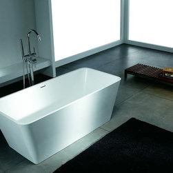 """Lurisia Luxury Modern Bathtub 58.3"""" - Lurisia  Luxury Modern Bathtub"""