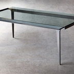 Madison Cocktail Table by Charleston Forge - Dimensions: (width x depth x height or thickness)