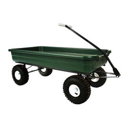 USA Made. - - Can be used as a stand-alone wagon or hitched to a Dirt King Tricycle or other wagons