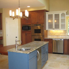 traditional kitchen by Curb Appeal Renovations