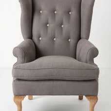 contemporary armchairs by Anthropologie