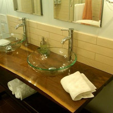 Modern Bathroom Vanities And Sink Consoles by OhioWoodLands, LLC