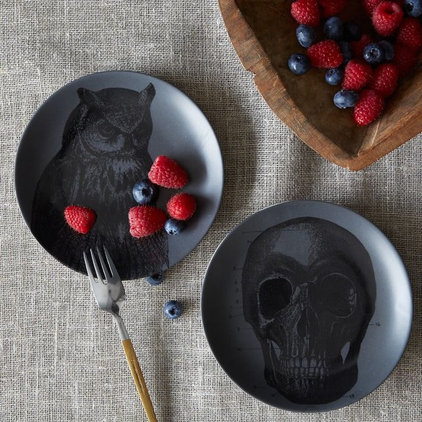 eclectic dinnerware by West Elm