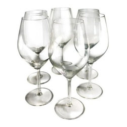 Epicureanist Illuminati Red Wine Glasses - Experience every nuance and subtlety of red wine with Vinotemp's Epicureanist Illuminati Red Wine Glasses. These generous glasses hold 21 ounces of wine, allowing you to savor and appreciate the unique aromas and flavors of your red wines. Vinotemp's Epicureanist glasses are exquisitely made with lead-free crystal, making them both environmentally friendly and dishwasher-safe. Glasses also undergo a unique hardening process that helps maintain the luster and reduce breakage. The robust bowl and delicate stem of each glass makes this set of six invaluable for any red wine enthusiast.About VinotempBased in Southern California since 1985, Vinotemp has proudly crafted custom built wine coolers for some of the finest restaurants and homes in the world. They've sold over 250,000 beautiful wine cellars in the United States and overseas. With a focus on quality, value, and service first implemented by founder Francis Ravel, Vinotemp continues the tradition of creating innovative storage solutions for your fine wine.Attention California Residents - Proposition 65 Warning: Consuming foods or beverages that have been kept or served in leaded crystal products or handling products made of leaded crystal will expose you to lead, a chemical known to the State of California to cause birth defects or other reproductive harm.