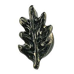 Sierra Lifestyles - Oak Leaf Knob - Bronzed Black (SIE-681212) - Oak Leaf Knob - Bronzed Black