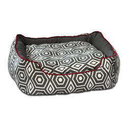 ez living home - Honeycomb Couch Bed Grey, Large - *Aesthetically pleasing geometric pattern, EZ to decorate with, suitable for any style.