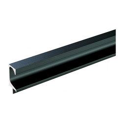 Hafele - Hafele 126.27.306 Black Finger Pulls - Hafele item number 126.27.306 is a beautifully finished Black Finger Pulls.