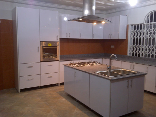 Contemporary Kitchen Cabinets by Errelegno