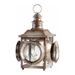Rustic Iron Railroad Lantern Candleholder - *Casey Jones Candleholder