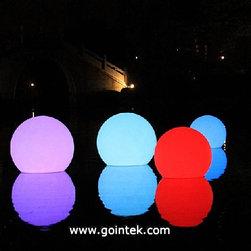 Outdoor Plastic Waterproof Illuminated LED Ball - Outdoor Plastic Waterproof Illuminated LED Ball,Swimming Pool Led Ball Lighting ,LED Ball Lighting Outdoor