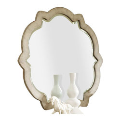 Hooker Furniture - Hooker Furniture Sanctuary Accent Mirror in Pearl Essence - Hooker Furniture - Mirrors - 302350001 - Through the Sanctuary Collection, you can create a sanctuary in your own home, a tranquil space that exudes a peaceful calm and grace, almost like a weekend retreat. When you walk into your home at the end of that long day, you will be delighted and your spirit will be renewed.