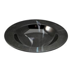 Mikasa - Mikasa Opus-Black  Large Rim Soup Bowl - Mikasa Opus-Black  Large Rim Soup Bowl