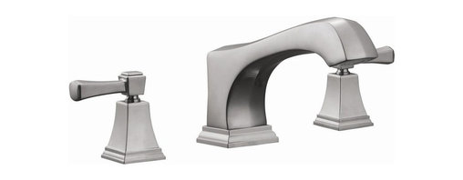 Design House - Torino Roman Tub Faucet w Sprayer - Dual handle design. Easy adjustment of temperature in your bathtub. Prevent antimicrobial growth ensuring safe and clean water. Water-efficient product. Strong corrosion resistant finish. 4.7-gallon per minute water flow rate. UPC, ADA, lead-free and cUP compliant and meet EPA WaterSense criteria for efficiency and performance. Integrates traditional curves with the amenities of industry leading features. Made from brass and ceramic. Satin nickel finish. Overall dimension: 10.2 in. W x 5.5 in. H . Spouts reach: 8.19 in.. Product Instructions. Assembly Instructions. Warranty