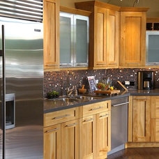 Contemporary Kitchen Cabinets by Premier Kitchen & Bath