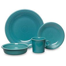 Fiesta® Dinnerware and Serveware in Turquoise - BedBathandBeyond.com