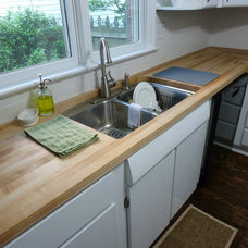 Traditional Kitchen Countertops by The Southside Woodshop