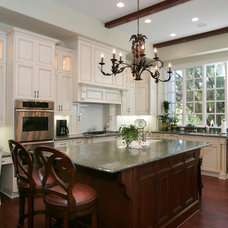 Traditional Kitchen by Custom Design & Construction