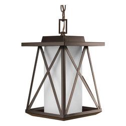 "Progress Lighting - Progress Lighting P6534 Scope 1 Light 8.625""W Lantern Pendant - Features:"