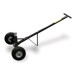 Sportsman's Series - Heavy-duty Steel 600-pound Trailer Dolly - Get those heavy loads transported easily and efficiently with this trailer dollyLifting equipment features an extra-long 49-inch handleGarage tool easily moves a loaded trailer on most terrains
