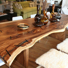 Inspiration Gallery: Live Edge Wood Slab Dining Tables | Apartment Therapy