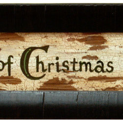 MyBarnwoodFrames - Rustic Christmas Wall Decor The Heart of Christmas is Love - Rustic  Christmas  Decor  for  your  Walls  -  The  Heart  of  Christmas  is  Love          Bring  the  warmth  of  Christmas  charm  into  your  home  with  this  rustic  sign.  With  a  distressed  and  weathered  look  and  black  frame,  this  piece  of  art  is  sure  to  be  a  Christmas  time  favorite.