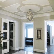 Contemporary Hall by Dochia Interior Design